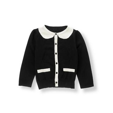 Black Tipped Cardigan at JanieandJack