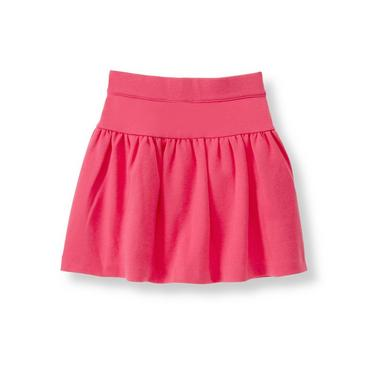 Haute Pink Ponte Skirt at JanieandJack