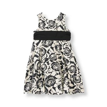 Black Rose Rose Floral Dress at JanieandJack