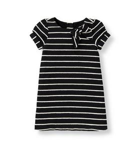 Bow Striped Dress