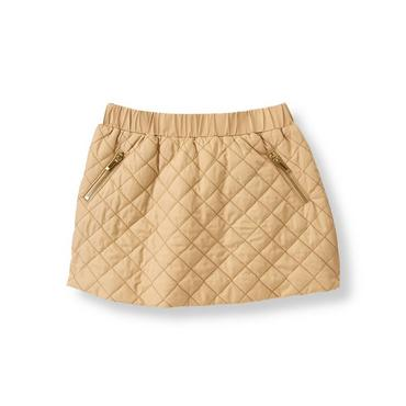 Camel Quilted Skirt at JanieandJack