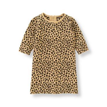 Leopard Leopard Print Sweater Dress at JanieandJack
