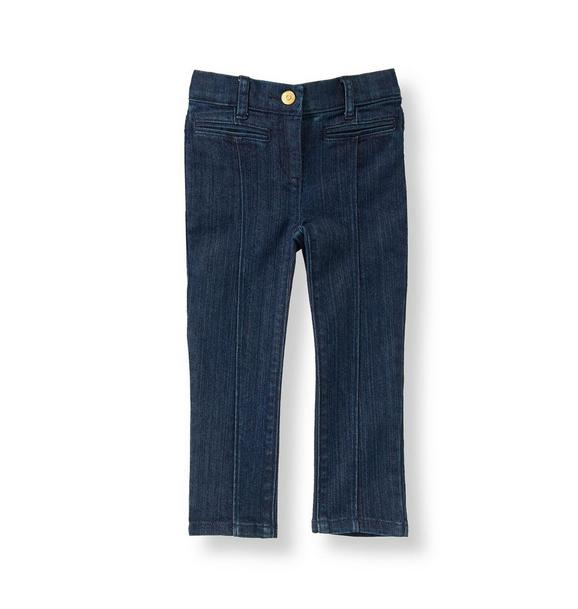 Seamed Jean