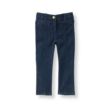 Denim Seamed Jean at JanieandJack