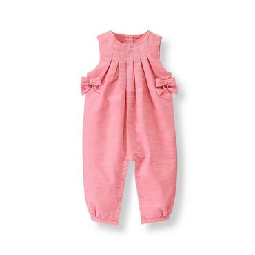 Rose Bow Overall at JanieandJack