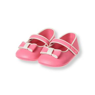 Rose Bow Crib Shoe at JanieandJack