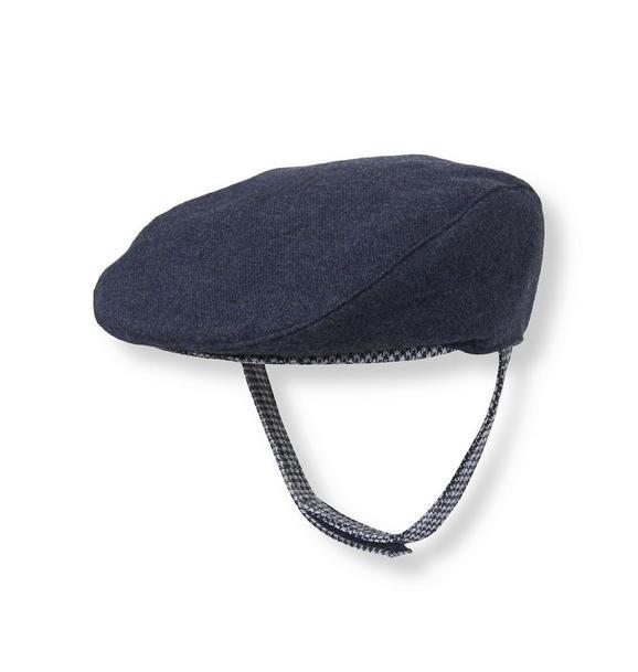 Houndstooth Trim Cap