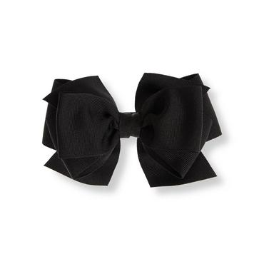 Black Bow Barrette at JanieandJack