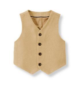 Twill Suit Vest