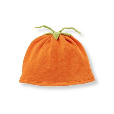 Baby Boy Pumpkin Pumpkin Sweater Hat at JanieandJack
