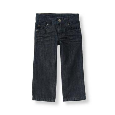 Boys Dark Wash Denim Denim Jean at JanieandJack