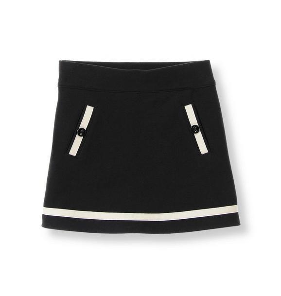 Ribbon Ponte Skirt
