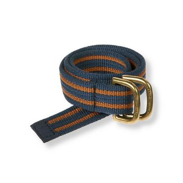 Boys Orange Rust Stripe Stripe Belt at JanieandJack