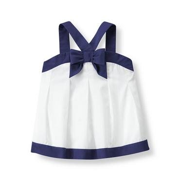 White Bow Top at JanieandJack