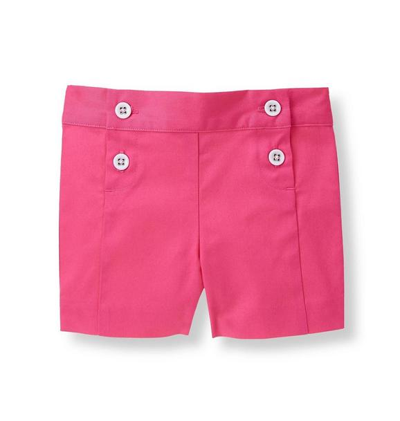 Double-Button Short