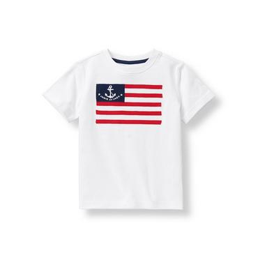 White Flag Tee at JanieandJack