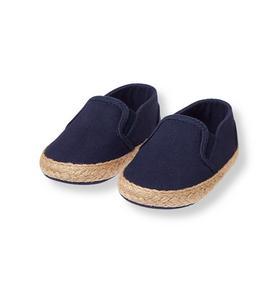 Espadrille Crib Shoe