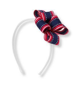 Striped Flower Headband