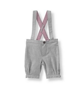 Twill Suspender Short