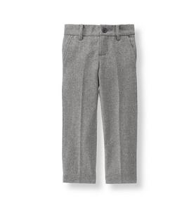 Wool Blend Suit Trouser