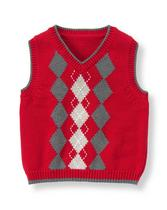 Argyle Sweater Vest