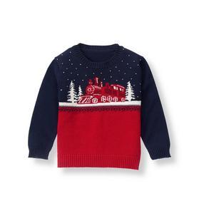Winter Train Sweater