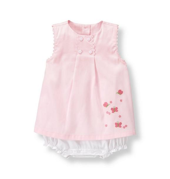 Butterfly Skirted 1-Piece