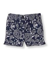 Floral Sateen Short