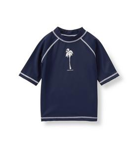 Palm Tree Rash Guard