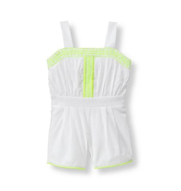 Glow Embroidered Romper