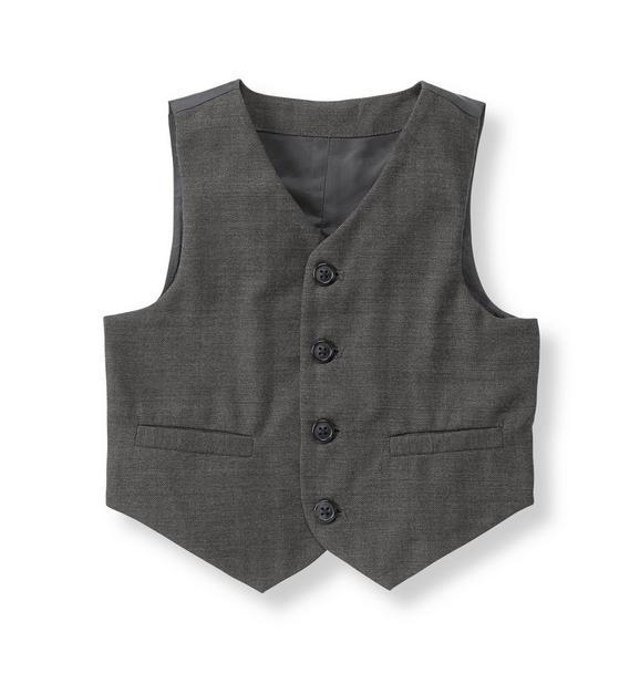 Herringbone Suit Vest