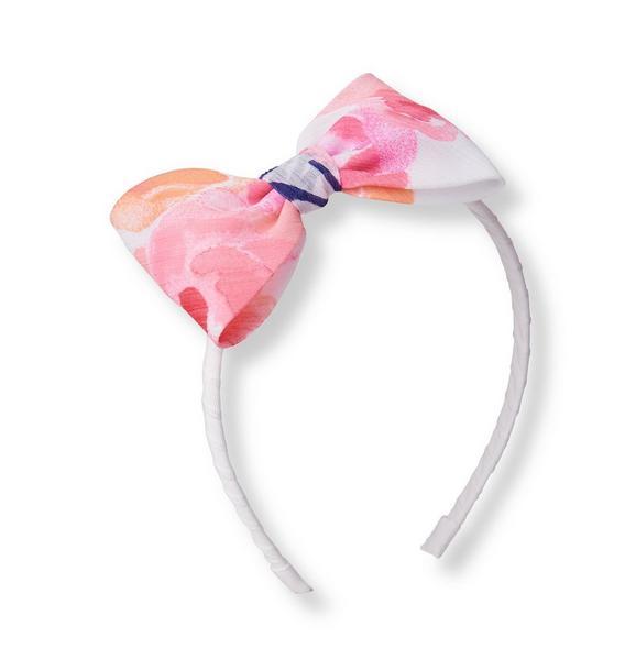 Rose Chiffon Headband
