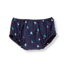 Sailboat Diaper Cover