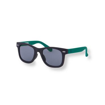 Baby Boy Navy Colorblock Sunglasses at JanieandJack
