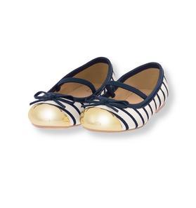 Cap Toe Ballet Flat