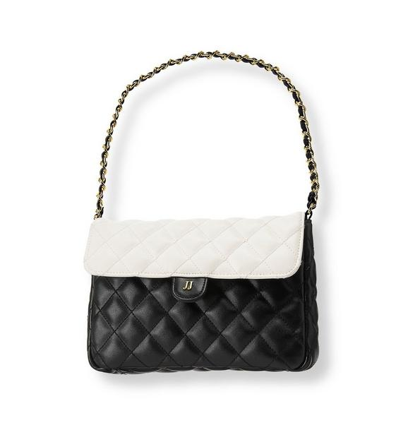 Quilted Colorblock Purse
