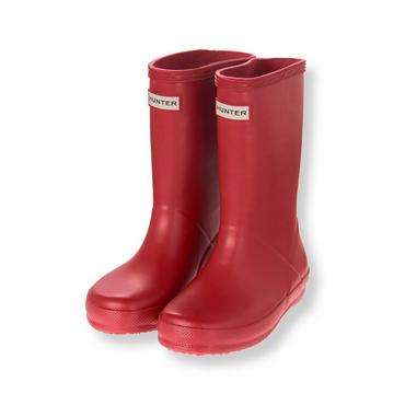 Baby Girl Red Hunter™ First Classic Rain Boot at JanieandJack