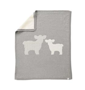 Reversible Lamb Blanket