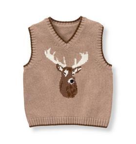 Reindeer Sweater Vest