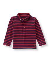 Striped Pique Shirt