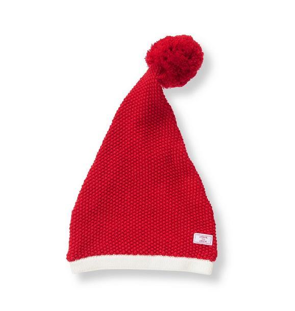 Pom-Pom Sweater Hat