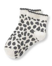 Cheetah Print Sock