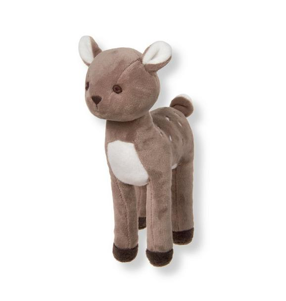 Plush Deer Rattle