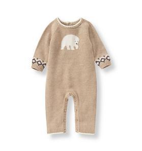 Polar Bear Sweater 1-Piece