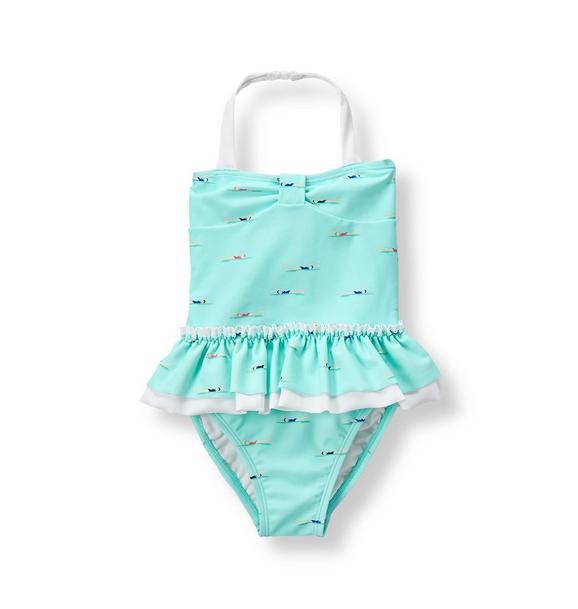 Swimmer Girl Swimsuit