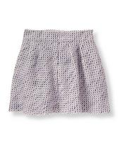 Sparkle Tweed Skirt