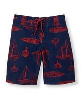 Boat Print Swim Trunk