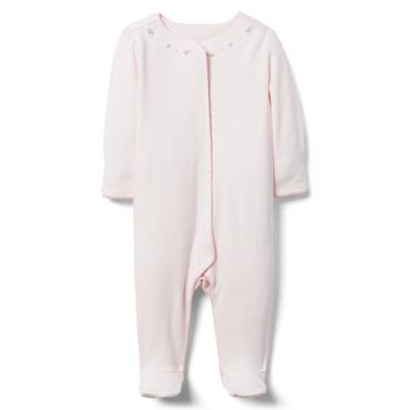 Baby Girl Precious Pink Newborn 1-Piece at JanieandJack