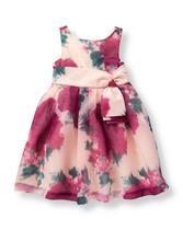 Floral Organza Dress