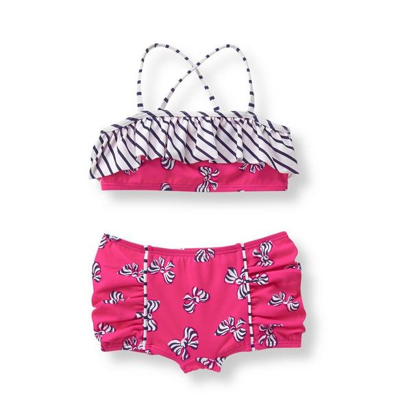 Bow 2-Piece Swimsuit